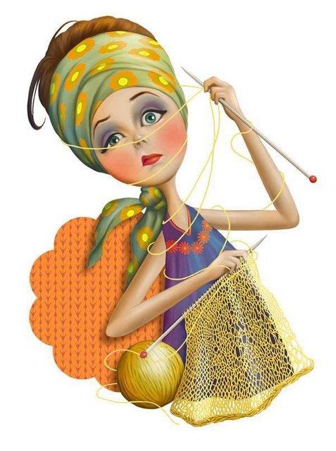вязание юмор