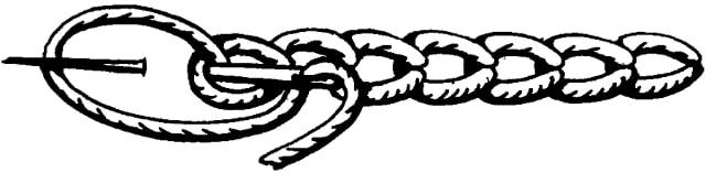 Тамбурный шов, описание, вязание на заказ