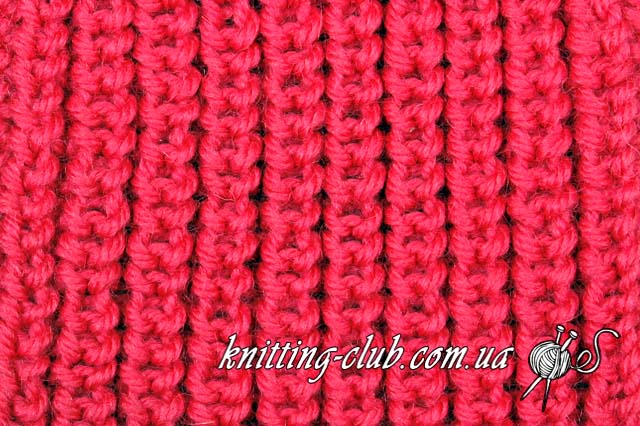 Полуанглийская (полупатентная) резинка,  английская резинка, английская резинка, английская резинка спицами, вяжем спицами, вязание, вязание для начинающих, вязание на спицах, вязание спицами, вязание спицами для начинающих, вязание спицами узоры, вязання, вязання спицями, вязать спицами, как вязать, как вязать английскую резинку, как вязать спицами, как научиться вязать, резинка спицами, резинки, узоры спицами, уроки вязания спицами, Вертикальная английская резинка, Двухцветная английская резинка, Полуанглийская резинка, Английское вязание, Базовые узоры со снятыми петлями, Базовые узоры вязания спицами, в'язання спицями