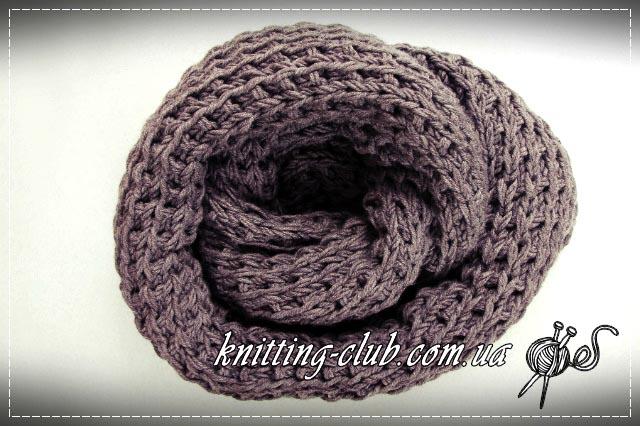 Снуд, С чем сочетается снуд, Как носить снуд, как связать шарф - снуд, описание, вязание на заказ