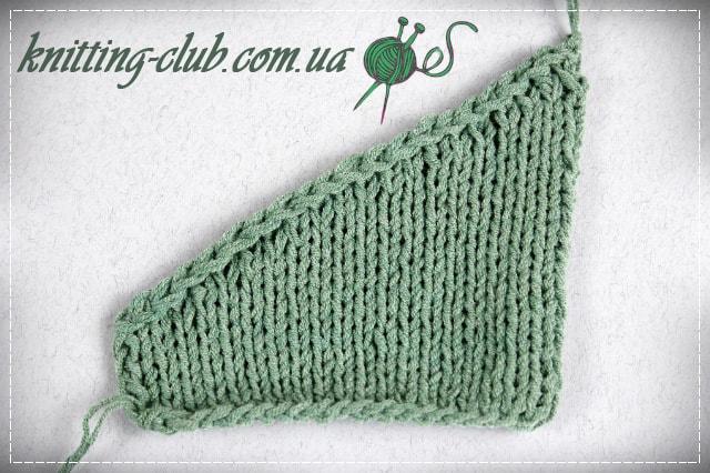 вязание укороченными рядами вязание от а до я