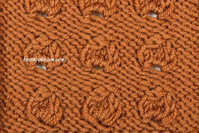 бугорки из четырех петель, базовые узоры вязания, описание, вязание на заказ, узоры из лицевых и изнаночных петель, узоры и схемы, узоры,жгуты, косы, араны,