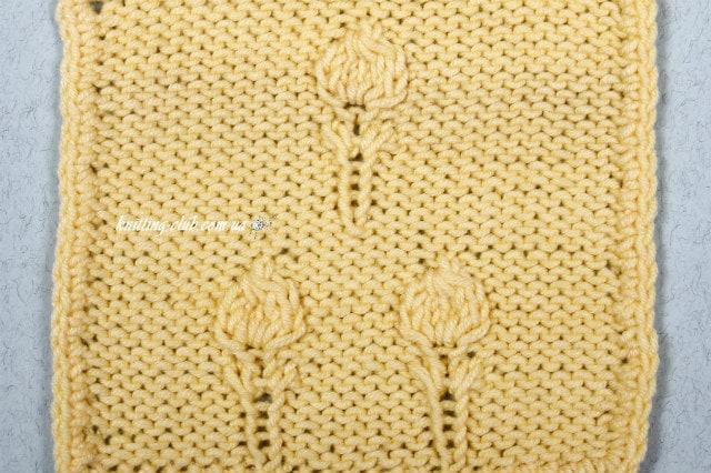 """узор """"Парашутики"""", базовые узоры вязания, описание, вязание на заказ, узоры из лицевых и изнаночных петель, узоры и схемы, узоры,жгуты, косы, араны"""