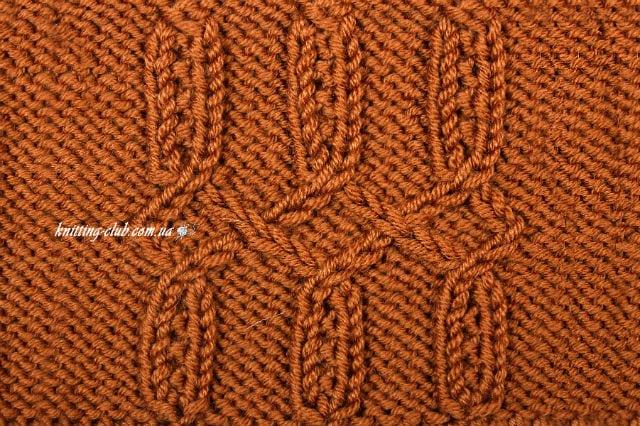 """узор """"Затейливый"""", базовые узоры вязания, описание, вязание на заказ, узоры из лицевых и изнаночных петель, узоры и схемы, узоры,жгуты, косы, араны"""