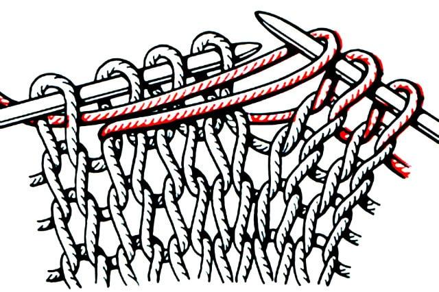 одинарная обхватывающая петля, базовые узоры вязания, описание, вязание на заказ, узоры из лицевых и изнаночных петель, узоры и схемы, узоры,жгуты, косы, араны,