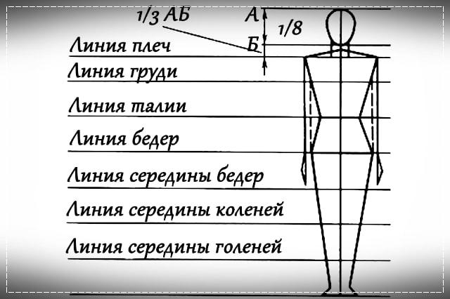 пропорции фигуры, описание, вязание на заказ