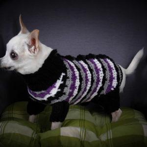 одежда для собак, описание, вязание на заказ