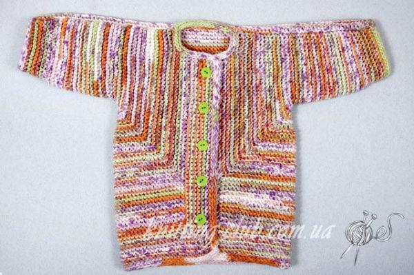 вязание для детей_Baby Surprise Jacket,описание, вязание на заказ