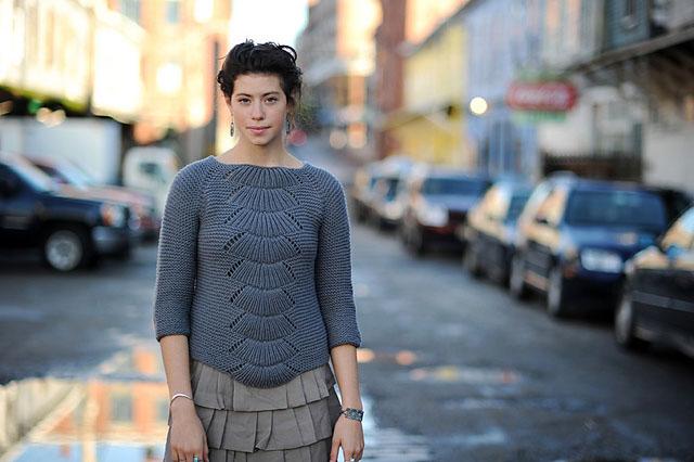 Пуловер Камилла, Вязание спицами, Схема и описание пуловера камилла