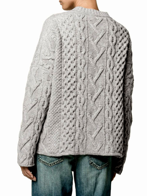 вязание спицами. как связать женский брендовый джемпер, идеи из интернета