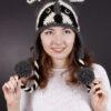 """Шапка """"Енот"""", как связать шапку """"Енот"""", купить шапку """"Енот"""", схема и описание шапки """"Енот"""""""