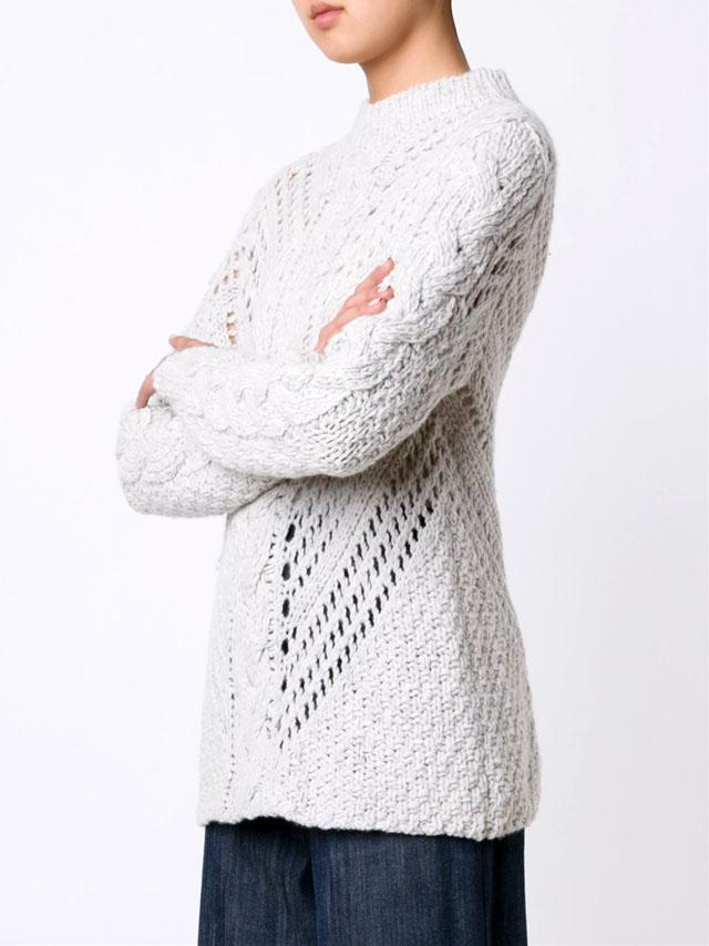 Джемпер от Адама Липпса, Вязание спицами, Джемпер женский