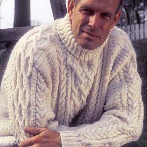Белый свитер с аранами унисех, белый свитер с аранами женский, белый свитер с аранами детский, вязание для мужчин, вязание для женщин, вязание для детей, вязание спицами, араны