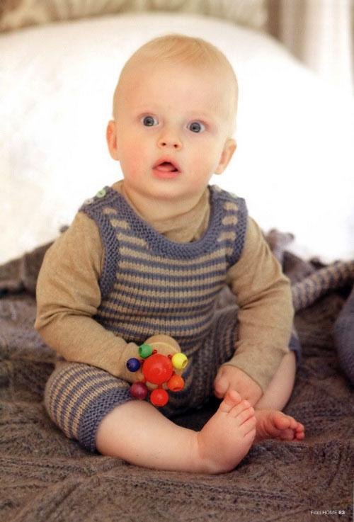 детский комбинезон, вязание детям, вязание для самых маленьких, как связать комбинезон для малыша