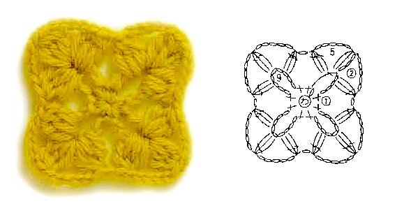 Мотивы, Вязание крючком, Узоры крючком, Схемы вязания крючком