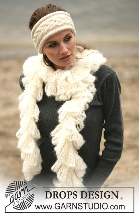 набор повязка и шарф,  снуд, повязка на голову, вязаный шарф, Вязание спицами, Вязаная шапка, Вязаный шарф,Шапка от Drops, Шарф от Drops, Комплект от Drops, Варежки, Варежки от Drops, Вязаный комплект шапка-шарф-варежки, Комплект шапка и шарф,комплект, Описание вязания шапки и шарфа, шарф, шарф и повязка, шарф от Drops, Схема вязания шарфа и повязки на голову, шапка, Шапка и шарф крючком, Шапка на заказ, Шапочка от Drops, шарф от Drops, вязание крючком, повязка на голову, Drops