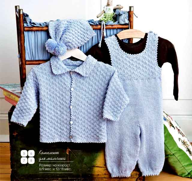 комплект, комплект для девочки, шапка, шапка детская. платье, платье детское, кофта, кофта детская,жакет, жакет детский, носочки детские, вязание спицами, вязание для детей, детские вязаные вещи, вяжите с нами, вяжем вместе, комплект для мальчика, кофточка для мальчика, жакет для мальчика, жакет для малыша, комбинезон для малыша, комбинезон для ребенка Вязаный комбинезон для ребенка, шапочка с помпоном