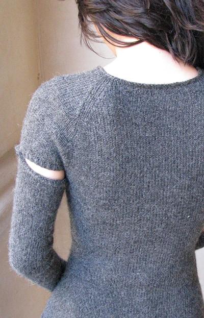 джемпер со съемными рукавами, джемпер, джемпер женский, пуловер, пуловер женский, вязание спицами, вяжем вместе, вяжите с нами, вязание для женщин, модели вязаной одежды для женщин