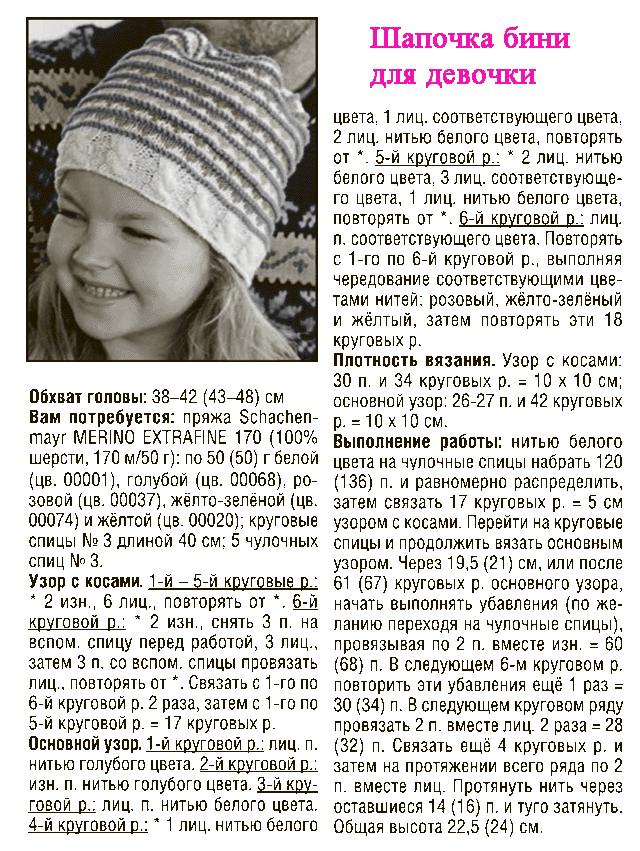 детская шапка бини, шапка бини для девочки, Как связать шапку Бини, описание, вязание на заказ