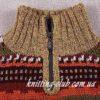 Мужской свитер с жаккардовым узором
