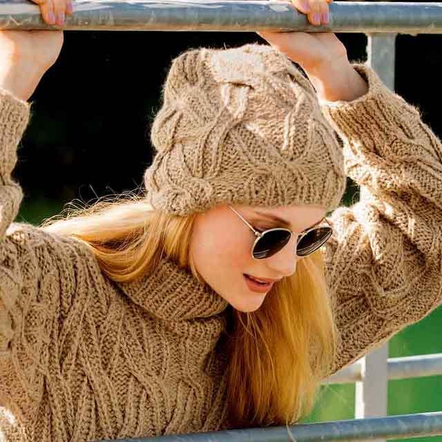 шапка с переплетениями, женская шапка бини, шапка бини для девочки, Как связать шапку Бини, описание, вязание на заказ, шапка, шапка женская, шапка женская бини, вязание для женщин, модели вязаной одежды для женщин, вязание спицами, вяжите с нами, вязание на заказ