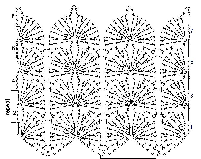 """сложные узоры крючком, узоры типа миссони крючком, узоры крючком, вязание крючком, """"Миссони"""" крючком, узор под """"Миссони"""", каталог узоров крючком, коллекция узоров крючком,"""