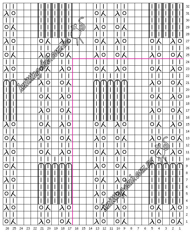 ажурный узор № 017 с эффектом клоке, эффект клоке, Узоры, схемы, описания, узоры спицами, описание, вязание на заказ, схемы узоров, ажурные узоры, узоры из азиатских журналов, много схем узоров, ажуры,, араны, косы, жаккарды, ирландские узоры, рельефные узоры, многоцветные узоры, ажурные волны, ажурные сеточки, узоры с втянутыми и снятыми петлями, резинки, английские резинки, узоры в вашу копилочку, копилка узоров, вязание спицами, вязание крючком, вязание спицами и крючком, вяжите с нами, вяжем вместе, азбука вязания, 250 японских узоров