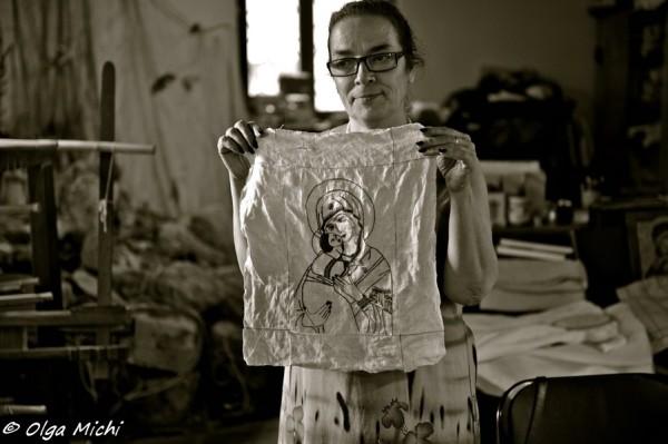 Кьяра Виго, морской шелк, описание, вязание на заказ