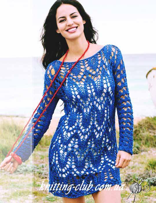 вязаное платье, платье вискозноеажурное, платье ажурное синее, платье ручной работы, платье ажурное крупной вязки, платье васильковогоцвета, платье с ажурным узором, синееплатье, как связать летнее платье, летние модели, платье вязанное хлопковое, вязание для женщин, вязание спицами, ажурные узоры,в'язання спицями