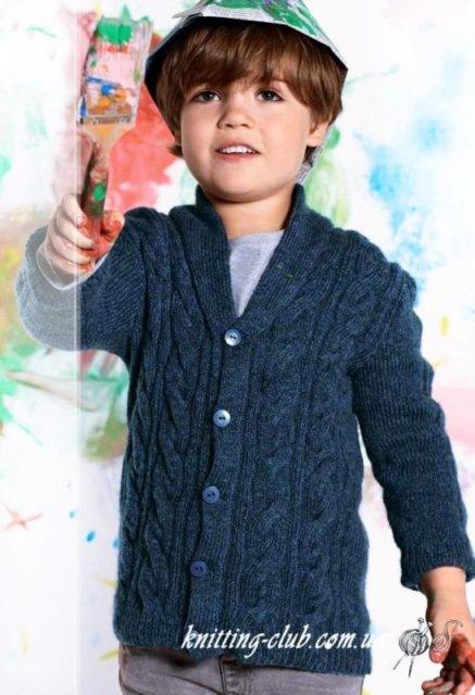 Детский жакет с косами на пуговицах, детский жакет с косами и шалевым воротником, детский жакет, жакет детский, вязание спицами, детский жакет с арановым узором, как связать детский жакет с аранами, вязание на заказ, вязание для детей, вязаные модели для детей, модели вязаной одежды