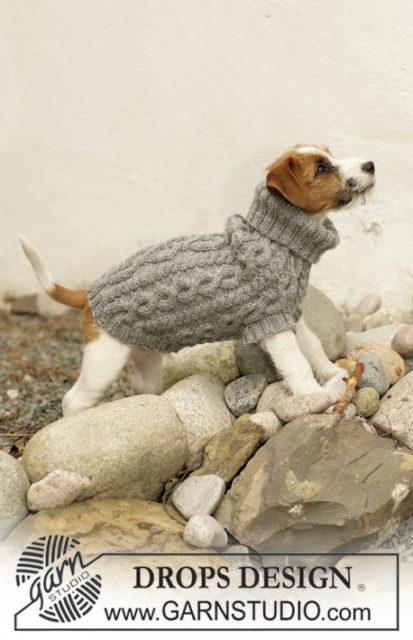 Свитер с косами дляфокстерьера /чихуахуа / бишон - фризе / коккер - спаниеля, вязание для собак, одежда для собак, вязаная одежда для собак, как связать свитер для собаки,пальто для собаки, одежда для фокстерьера, вязаная одежда для чихуахуа, вязаная одежда для собак на заказ, вязаная одежда для собак на заказ, свитер для маленькой собачки.