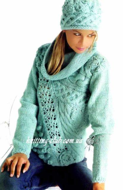 Пуловер женский доставка