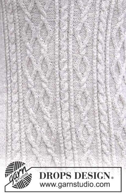 Джемпер с аранами, джемпер женский, вязаный джемпер, как связать женский джемпер с аранами, вязание спицами, вязание для женщин, модели вязаной одежды для женщин, вязание на заказ, описания и схемы вязаных изделий