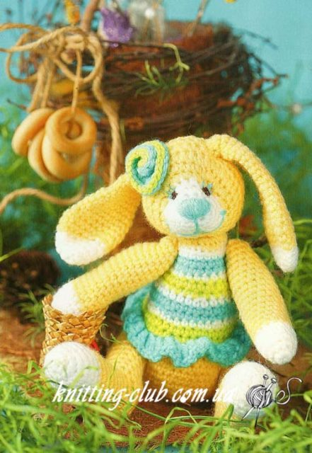 Вязаный Заяц, вязаный зайчик, игрушка заяц, вязаный заяц, заяц вязаный крючком, подарки к рождеству, игрушка крючком, вязаная игрушка, вязание на заказ, описание и схемы вязаных игрушек, амигуруми