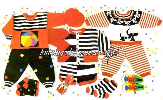 детский комплект, пуловер детский с мячом, штанишки детские, вязание детям, для самых маленьких, вязание на заказ, как связать, детский пуловер, как связать детские штаны