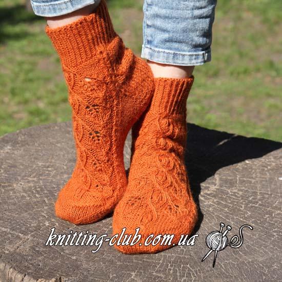 Носки, носки спицами, носки на двух парах спиц, вязаные носки, как связать носки на круговых спицах, вяжем носки, учимся вязать носки, схемы из азиатских журналов, носки ажурные