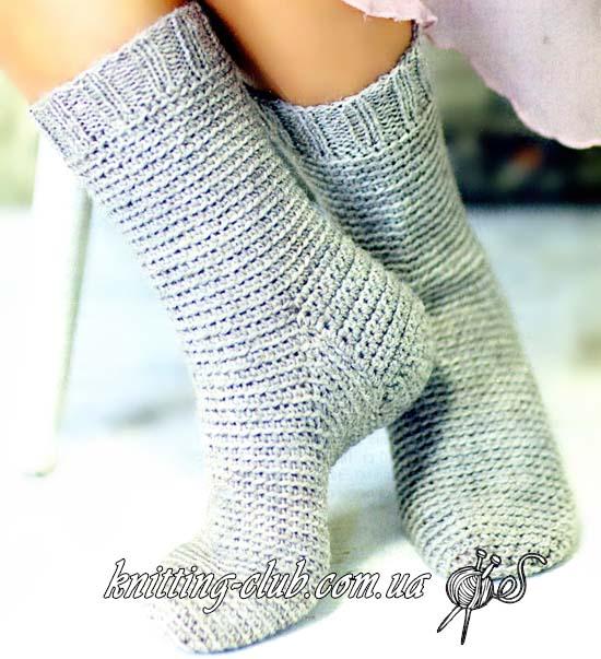 Носки, носки крючком, взрослые носки крючком, вязание крючком