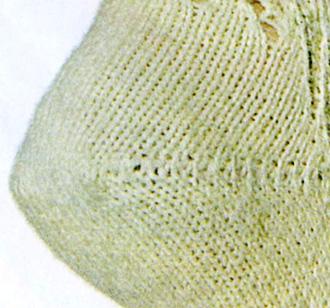 Виды пяток, пятка бумеранг, как вязать пятку бумеранг, вязание спицами, носки, вязаные носки