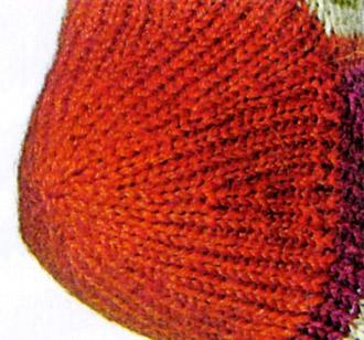 Виды пяток, круглая пятка, как вязать круглую пятку, вязание спицами, носки, вязаные носки