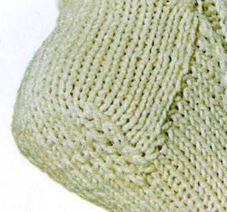 Виды пяток, прямая пятка, как вязать прямую пятку, вязание спицами, носки, вязаные носки