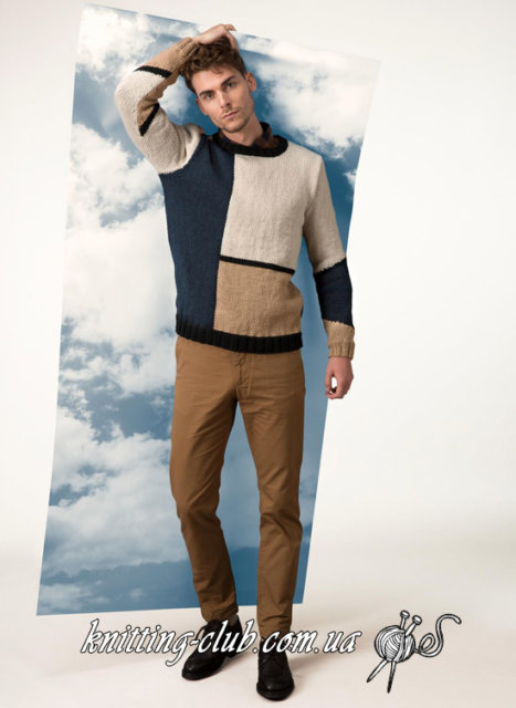 Пуловер с геометрическим узором, Вязание мужчинам, Пуловер мужской, Джемпер мужской, Вязаный пуловер, Как связать мужской пуловер, Вязание для мужчин, Геометрические узоры, Вязаная геометрия