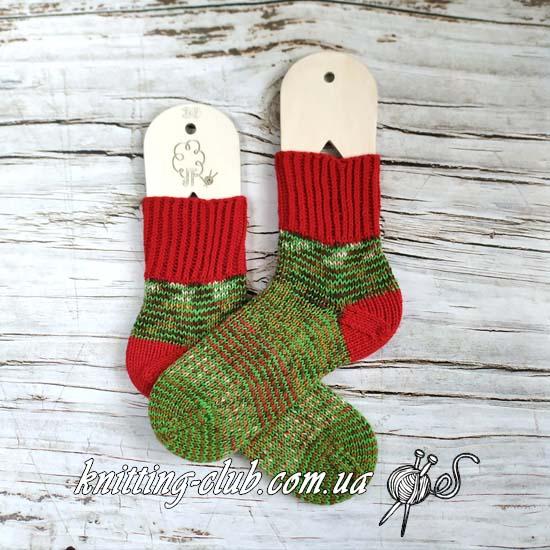 Носки с забытой пяткой, носки, вязаные носки, полосатые носки, отложенная пятка, хеликс, helix, носки на двух парах круговых спиц