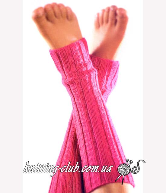 Ярко – розовые гетры для спорта и танцев, Ярко – розовые гетры для спорта и танцев спицами, Ярко – розовые гетры для йоги и балерин спицами, как связать Ярко – розовые гетры для спота и танцев, вязание спицами, гетры спицами, гетры резинкой, самый простой способ связать гетры